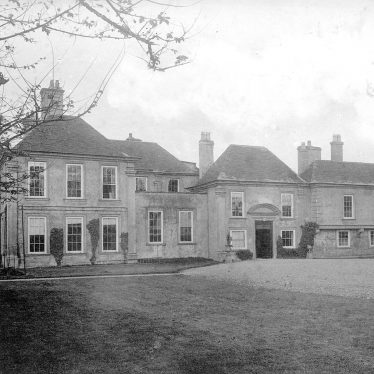 Middleton Hall, Middleton.  1892 | IMAGE LOCATION: (Warwickshire County Record Office)