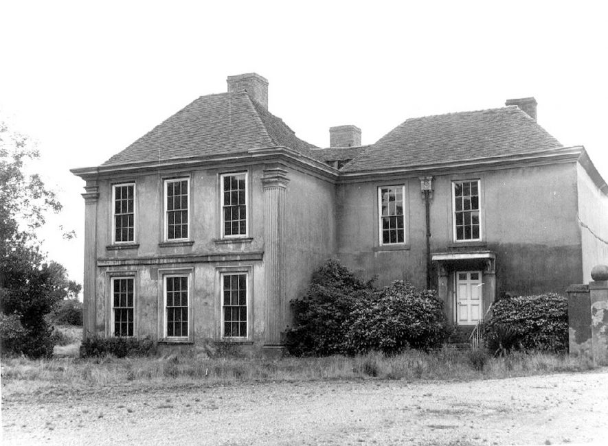 Middleton Hall, Middleton.  1969 |  IMAGE LOCATION: (Warwickshire County Record Office)