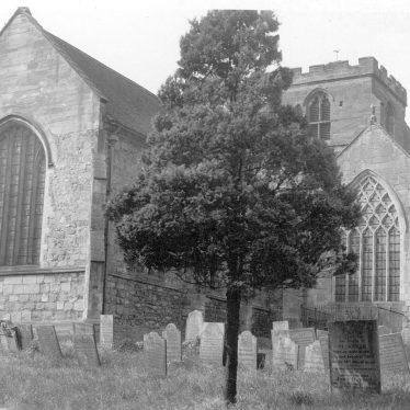 Mancetter.  St Peter's church