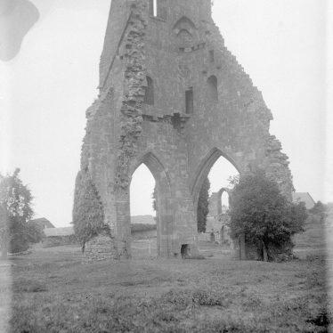 Maxstoke.  Priory ruins