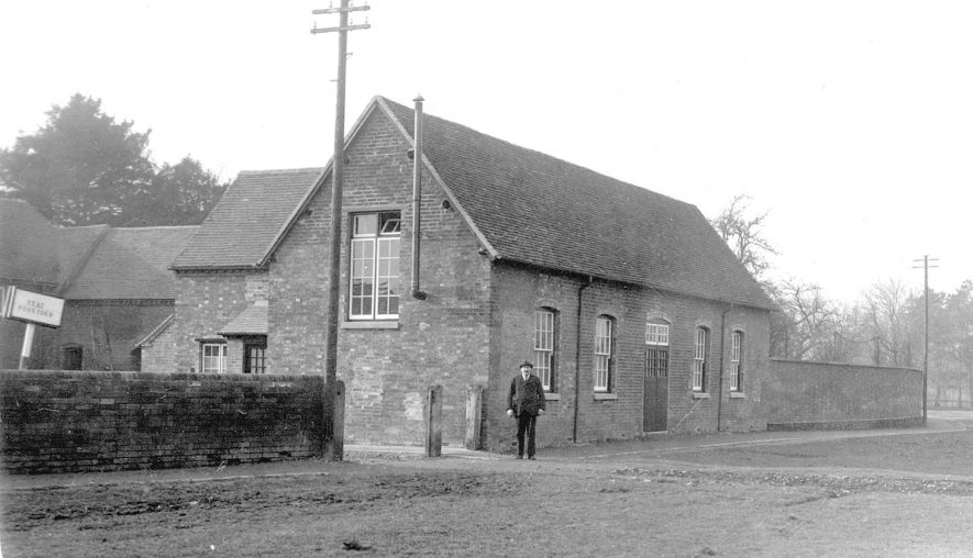 The Village Hall, Long Itchington.  1920s |  IMAGE LOCATION: (Warwickshire County Record Office)