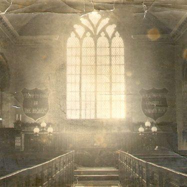 Maxstoke.  Church interior