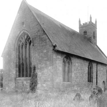 Maxstoke.  Church exterior