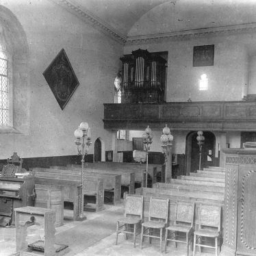 Maxstoke.  Church interior