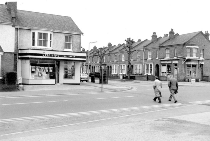 Corner of Cubbington Road and Lime Avenue, Lillington.  1967