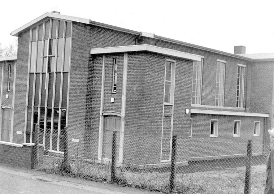 Lillington Free Church in Cubbington Road.  1967  |  IMAGE LOCATION: (Warwickshire County Record Office)