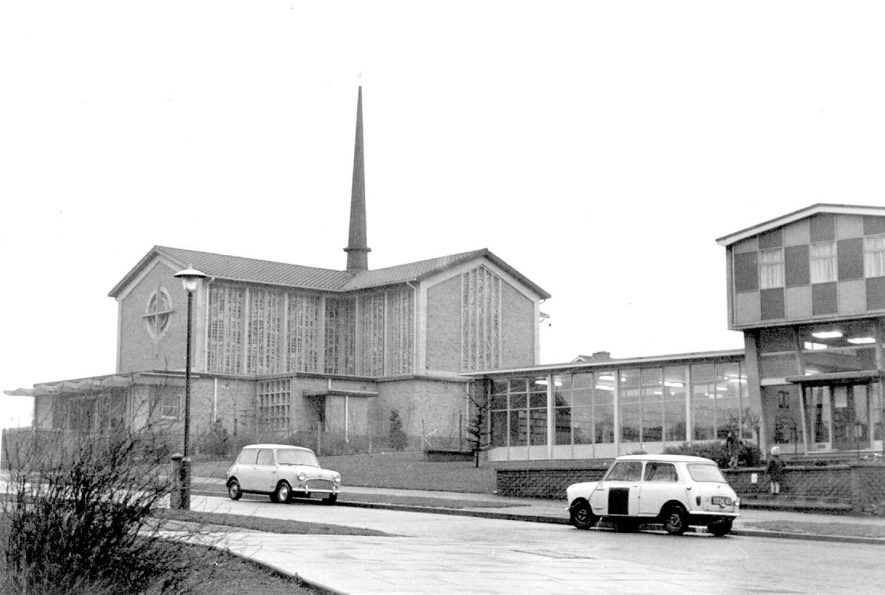 Roman Catholic church, Valley Road, Lillington. 1967 |  IMAGE LOCATION: (Warwickshire County Record Office)