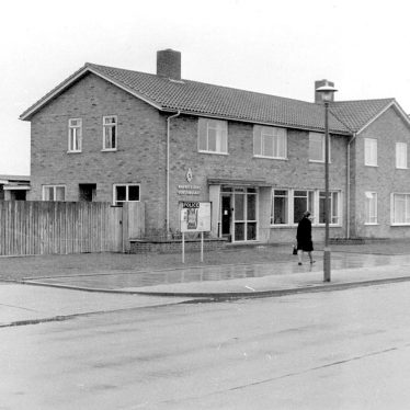 Lillington.  Police Station in Crown Way
