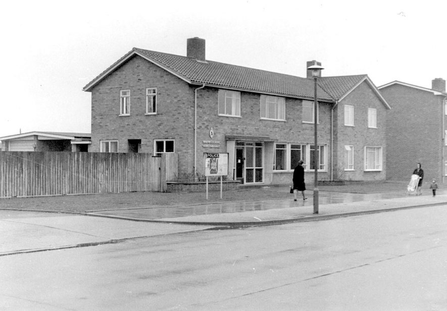 Lillington Police Station in Crown Way.  1967 |  IMAGE LOCATION: (Warwickshire County Record Office)
