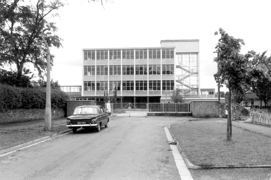 Blackdown school, Lillington.  1967 |  IMAGE LOCATION: (Warwickshire County Record Office)