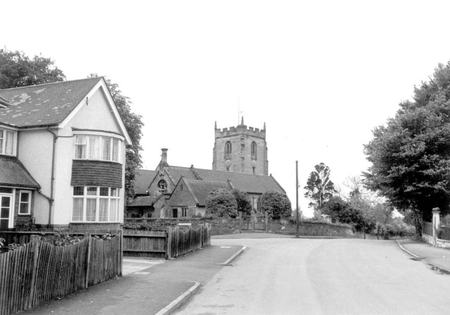 St Mary Magdalene church and house, Lillington.  1967 |  IMAGE LOCATION: (Warwickshire County Record Office)