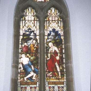 Lillington.  Stained Glass in St Mary Magdalene Church