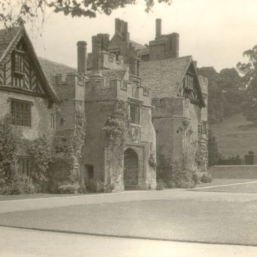 Compton Wynyates.  House and grounds