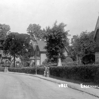 Easenhall.  Cottages