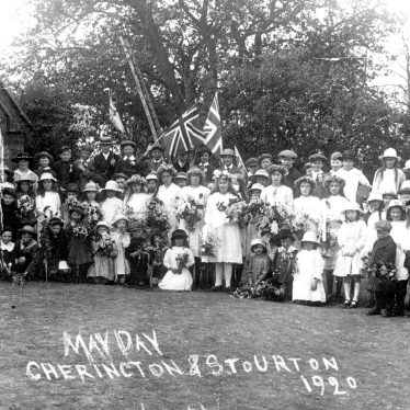 Cherington.  May Day celebrations