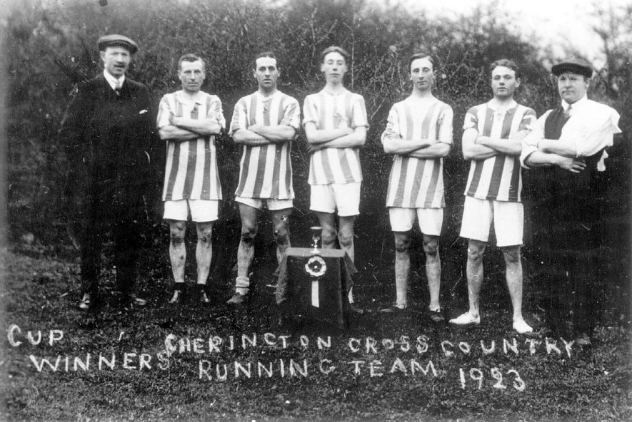 Cherington cross country running team, who were the cup winners in 1923. |  IMAGE LOCATION: (Warwickshire County Record Office)