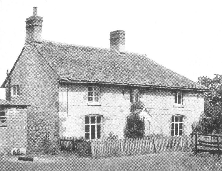 Gore Hill Farmhouse, Newbold on Stour.  Photograph from Godfrey-Peyton printed sale particulars plan.  1969 |  IMAGE LOCATION: (Warwickshire County Record Office)