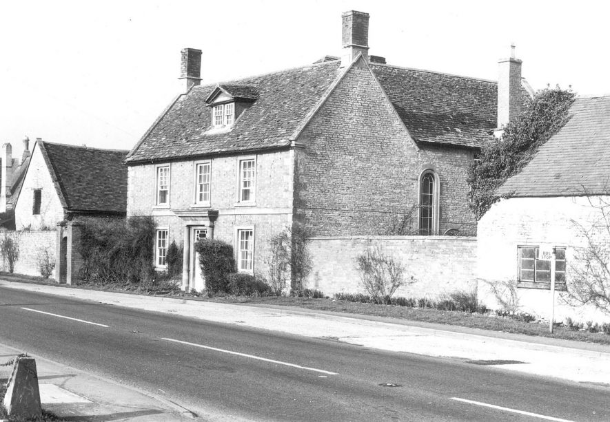 Hands Farmhouse, Newbold on Stour.  Photograph from Godfrey-Peyton printed sale particulars plan.  1973 |  IMAGE LOCATION: (Warwickshire County Record Office)