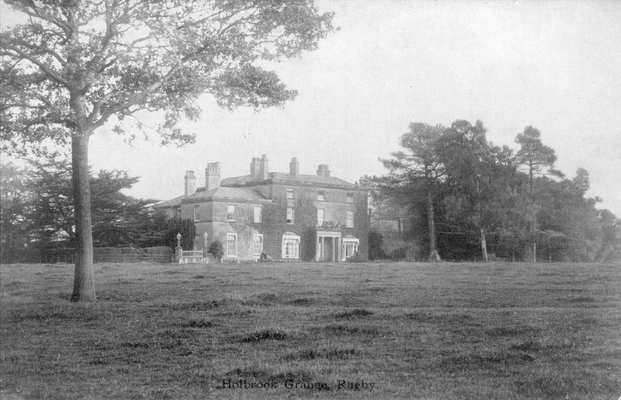 Holbrook Grange, Little Lawford.  1900s |  IMAGE LOCATION: (Warwickshire County Record Office)