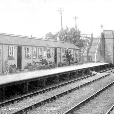 Napton and Stockton.  Railway Station