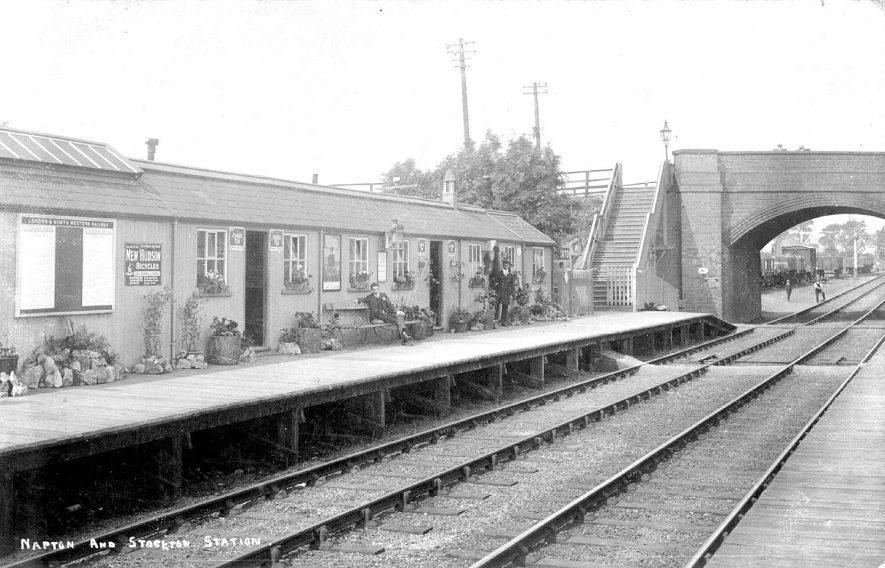 Napton and Stockton Railway Station. 1905