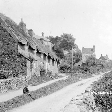 Napton on the Hill.  Hackwell Road (now Street)