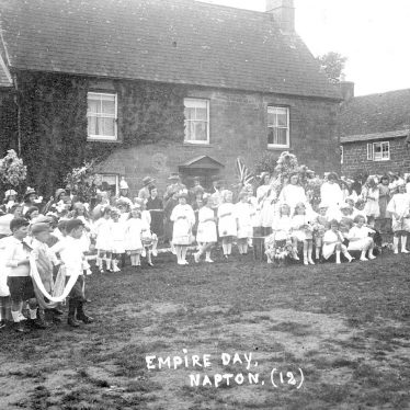 Napton on the Hill.  Empire Day celebrations
