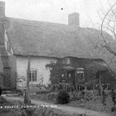 Dunnington.  Old houses