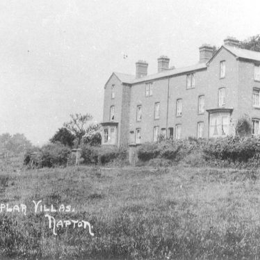 Napton on the Hill.  Poplar Villas