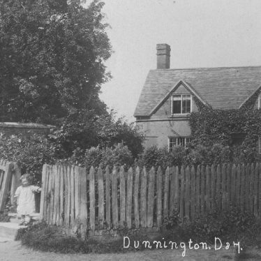 Dunnington.  Cottage