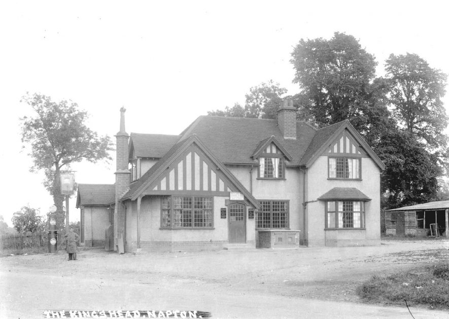 The King's Head Public House, Napton on the Hill.  1920s |  IMAGE LOCATION: (Warwickshire County Record Office)
