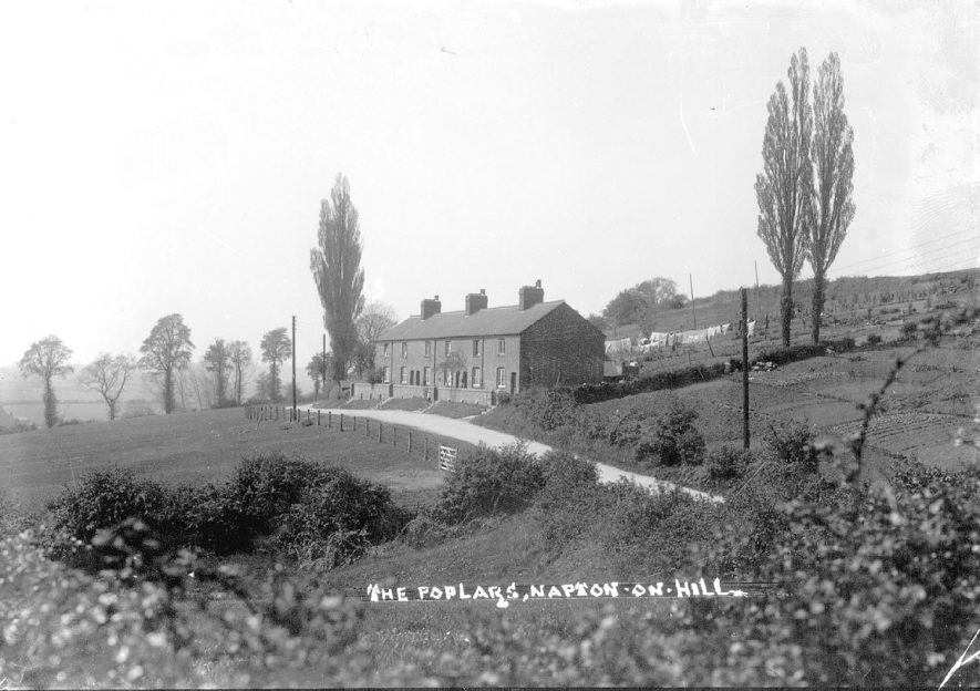 The Poplars, Napton on the Hill.  1920s |  IMAGE LOCATION: (Warwickshire County Record Office)