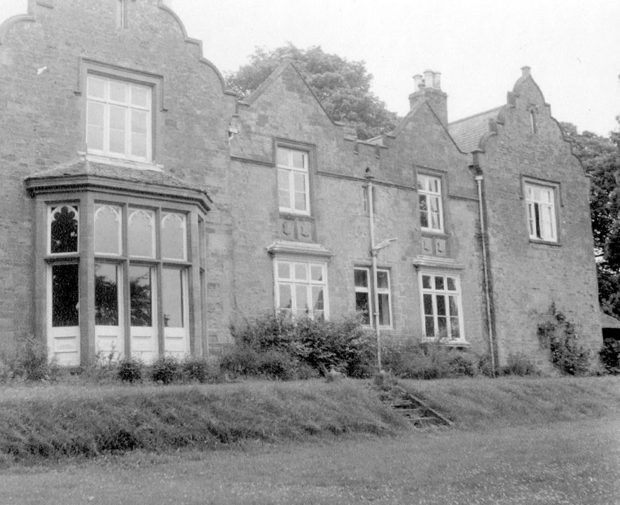 Old vicarage, back view, Napton on the Hill.  1966 |  IMAGE LOCATION: (Warwickshire County Record Office)