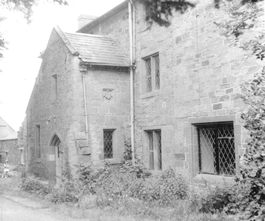 Old Vicarage, front view, Napton on the Hill.  1966 |  IMAGE LOCATION: (Warwickshire County Record Office)