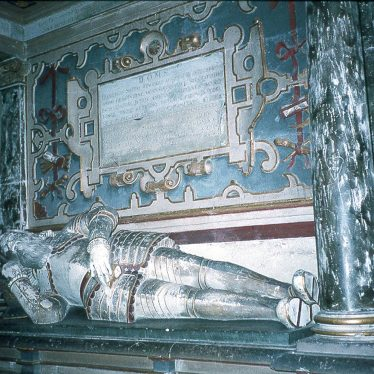 Wootton Wawen.  Tomb of Sir Francis Smith