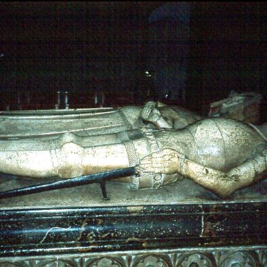 Warwick.  St Mary, Tomb of Thomas Beauchamp