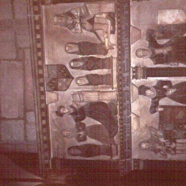 Newbold on Avon.  The Boughton - Leigh Family Tomb