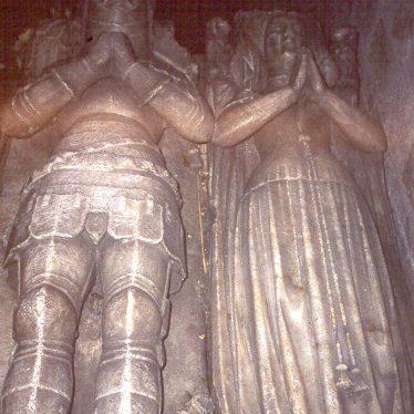 Merevale.  Tomb of Earl Ferrers & Elizabeth Belknap