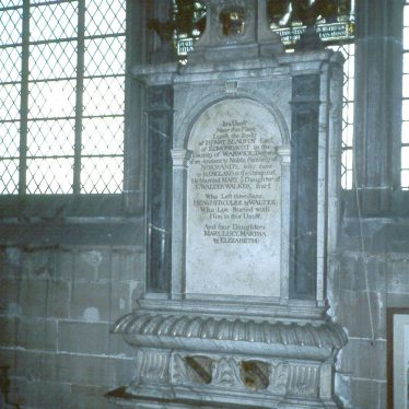Warwick.  Monument to Henry Beaufoy and his wife