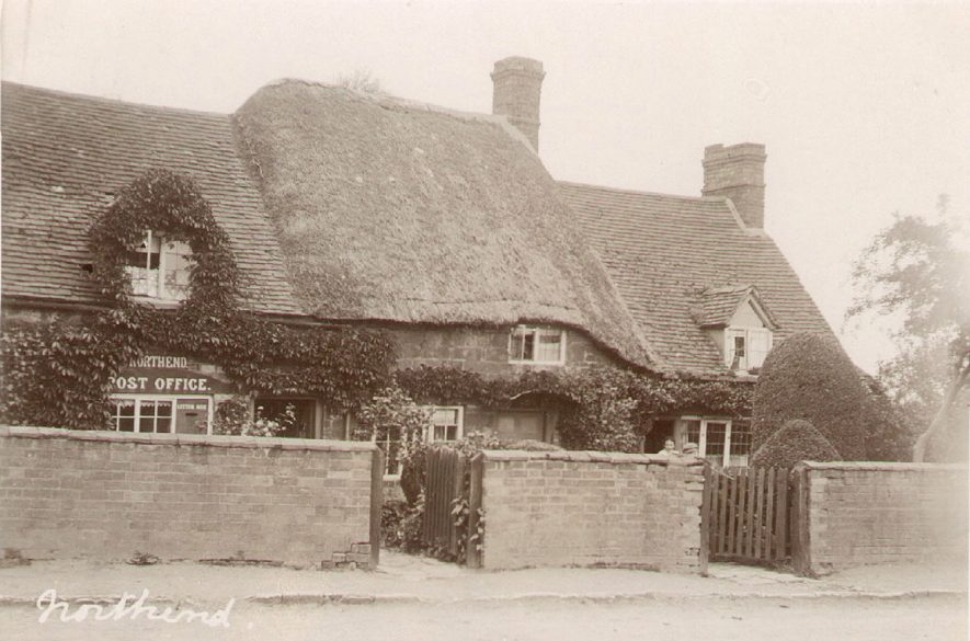 The post office and cottage, Northend.  1900s |  IMAGE LOCATION: (Warwickshire County Record Office)