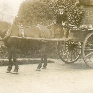 Northend.  Horse and cart