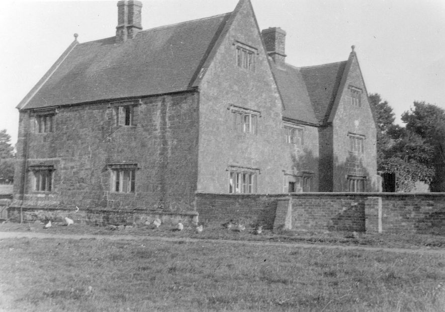 A large stone detached house in Northend.  1937 [It has been suggested this site is Taylor's farm. Standing opposite is the village blacksmith's cottage/forge.][In 1901 census Margaret Burton was working as a nursemaid and the 'Farm belonging to Richard Knibb, glazier'.] |  IMAGE LOCATION: (Warwickshire County Record Office)