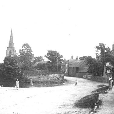 Newton Regis.  Village view