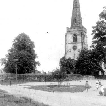 Newton Regis.  St Mary's church