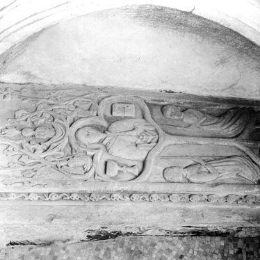 Newton Regis.  Tomb in St Mary's church