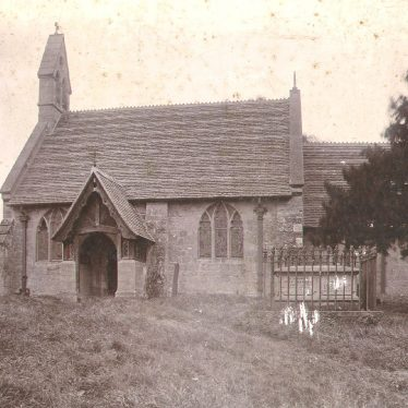 Norton Lindsey.  Holy Trinity church