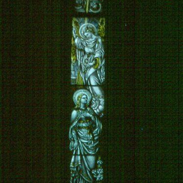 Norton Lindsey.  Church window
