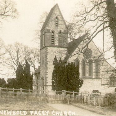 Newbold Pacey.  Church