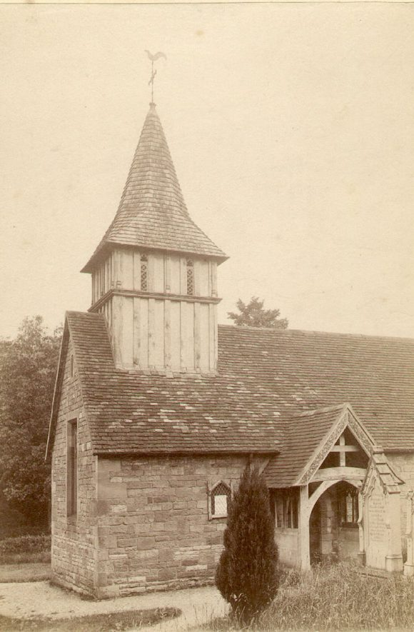 Church of St Mary, Oldberrow.  1900s |  IMAGE LOCATION: (Warwickshire County Record Office)