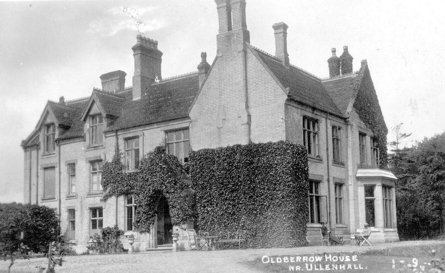 Oldberrow House, Oldberrow.  1920s |  IMAGE LOCATION: (Warwickshire County Record Office)